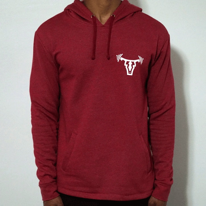 Iconic Unisex Pullover Hoodie- Red