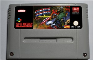 Captain America and the Avengers - SNES (PAL)