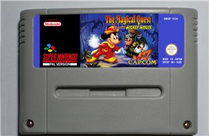 The Magical Quest starring Mickey Mouse - SNES (PAL)
