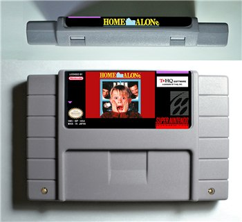 Home Alone - SNES (NTSC)
