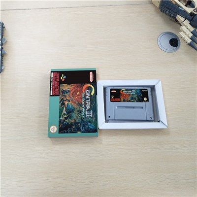 Contra III The Alien Wars Avec boîte d'origine - SNES (PAL)