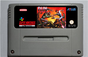 Run Saber - SNES (PAL)