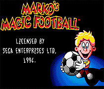 Marko's Magic Football SEGA MegaDrive