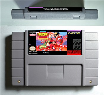 The Great Circus Mystery Starring Mickey and Minnie - SNES (NTSC)