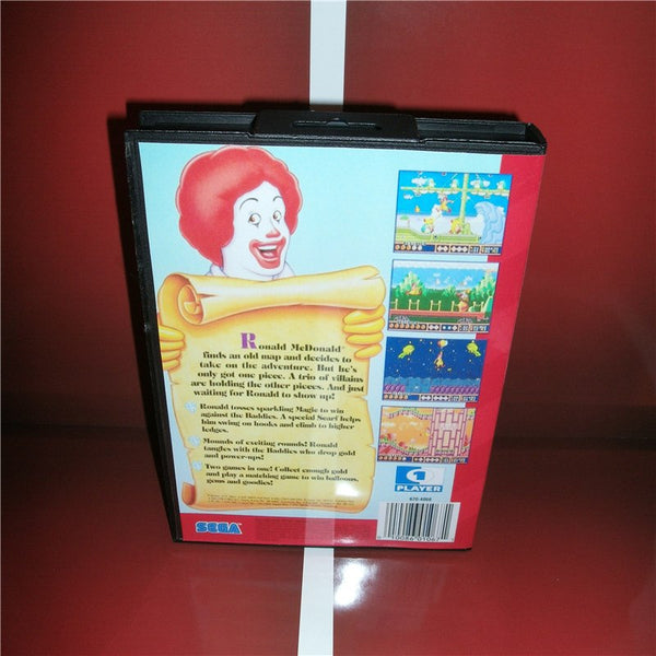 Mcdonald's Treasure Land Adventure Avec boîte d'origine et notice - SEGA Megadrive
