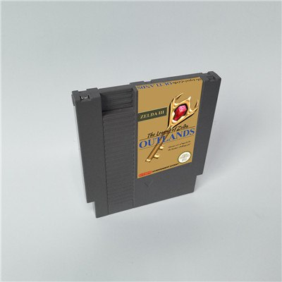 The Legend of Zeldaed III Outlands - NES