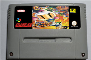 Super Bomberman 4 - SNES (PAL)