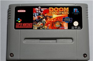 Doom Troopers Mutant Chronicles - SNES (PAL)