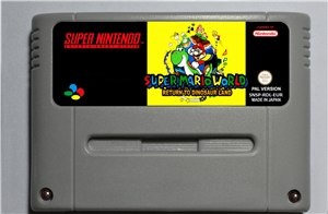 Mario Return To Land - ARPG Game Cartridge Battery Save EUR Version