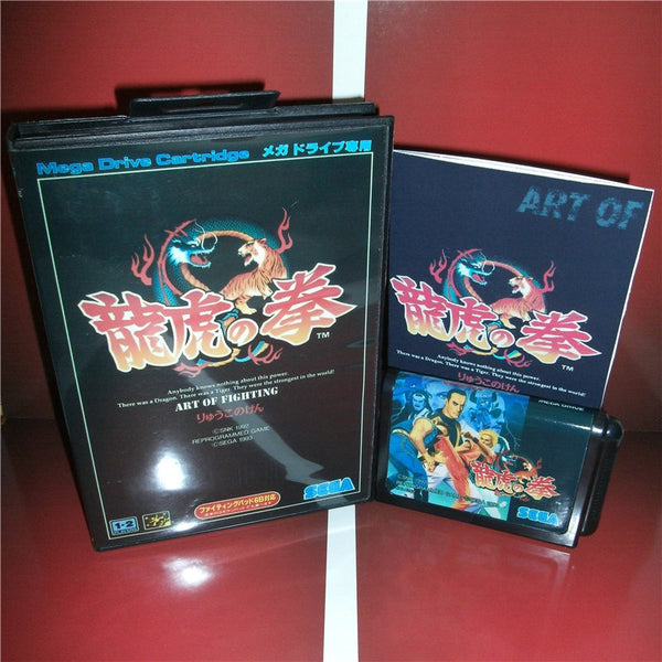Art of Fighting avec boîte d'origine et notice - SEGA Megadrive