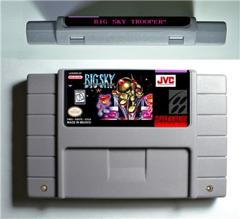 Big Sky Trooper - SNES (NTSC)