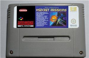 The Secret Missions Wing Commander - SNES (PAL)