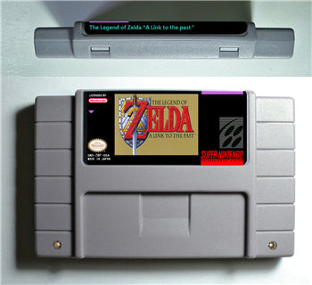 Zelda A link to the past SNES (NTSC)