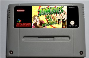 Zombies Ate My Neighbors PAL - SNES (PAL) only Support NTSC