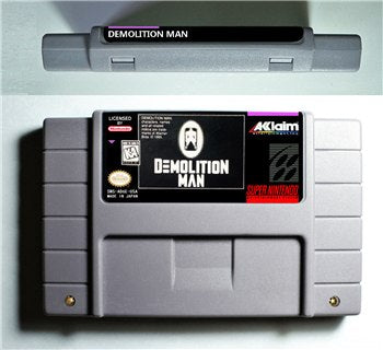 Demolition Man - SNES (NTSC)