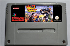 WILD GUNS - SNES (PAL)