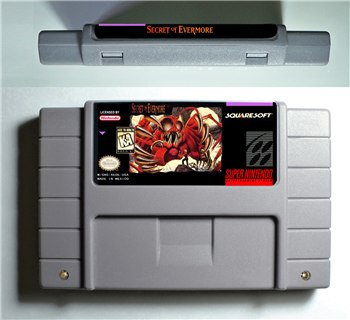 Game Secret of Evermore - SNES (NTSC)