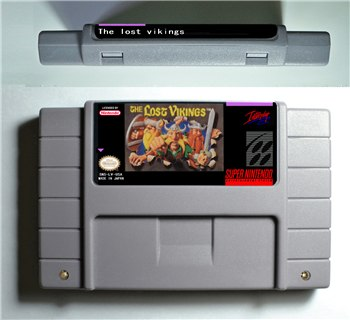 The Lost Vikings 1 - SNES (NTSC)