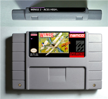 Wings 2 Aces High - SNES (NTSC)