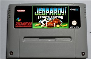 Jeopardy Sports Edition - SNES (PAL)