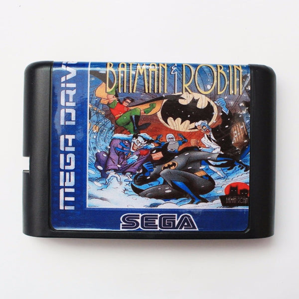 The Adventure Of Batman & Robin SEGA MegaDrive