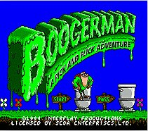 Boogerman A Pick And Flick Adventure SEGA MegaDrive