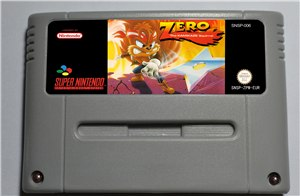 Zero the Kamikaze Squirrel - SNES (PAL)