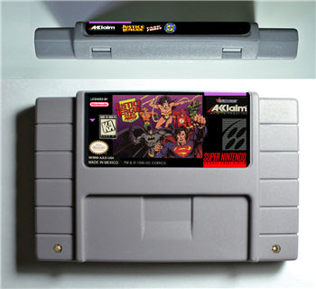 Justice League Task Force - SNES (NTSC)