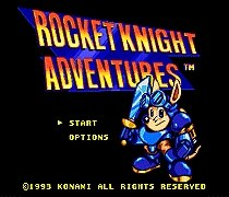 Rocket Knight Adventures SEGA MegaDrive