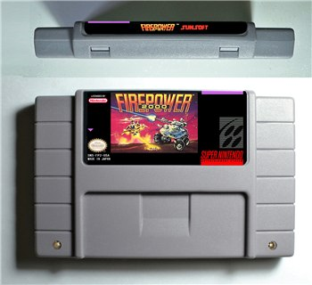 Firepower 2000 - SNES (NTSC)
