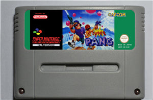Super Pang  - SNES (PAL)