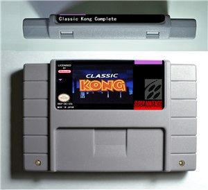 Classic Kong Complete - SNES (NTSC)
