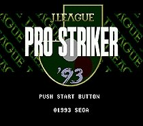 J League Pro Striker SEGA MegaDrive