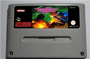 Game Gradius III - SNES (PAL)