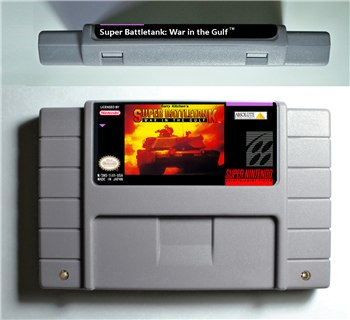 Super Battletank 2 War in the Gulf - SNES (NTSC)