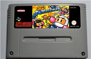 Super Bomberman 1 - SNES (PAL)