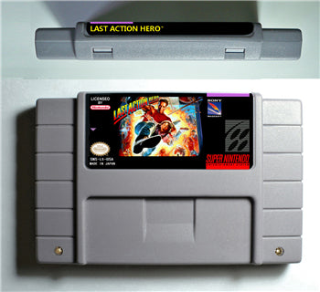 Last Action Hero - SNES (NTSC)