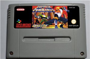CAPTAIN COMMANDO - SNES (PAL)