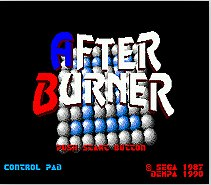 After Burner 2 SEGA MegaDrive