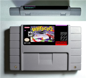 Uniracers - SNES (NTSC)