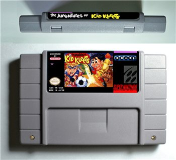 The Adventure of Kid Kleets - SNES (NTSC)