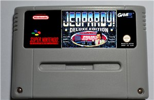 Jeopardy! Deluxe Edition - SNES (PAL)