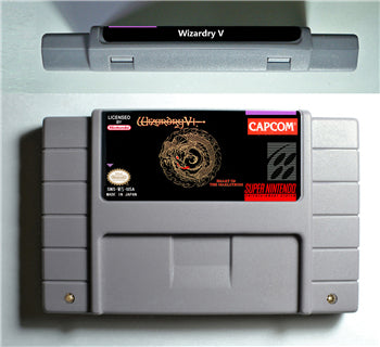 Wizardry V Heart Of The Maelstrom - SNES (NTSC)