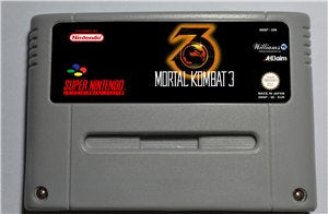 Mortal Kombat 3 - SNES (PAL)