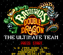 Battletoads And Double Dragon The Ultimate Team SEGA MegaDrive