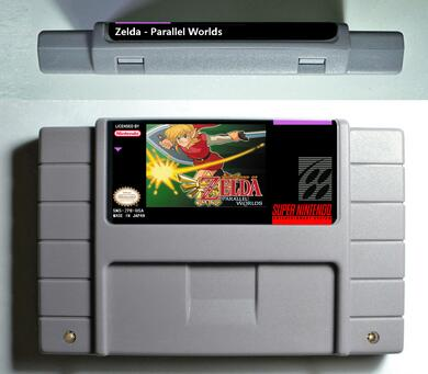 Parallel Worlds - SNES (NTSC)