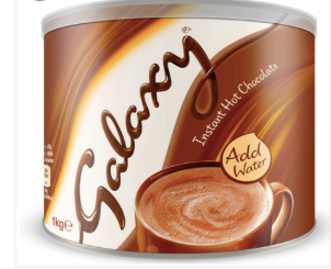 Galaxy Instant Hot Chocolate, 1kg
