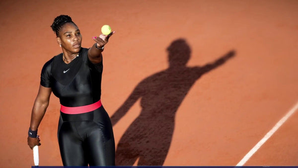 Serena Williams wears Catsuit at 2018 French Open