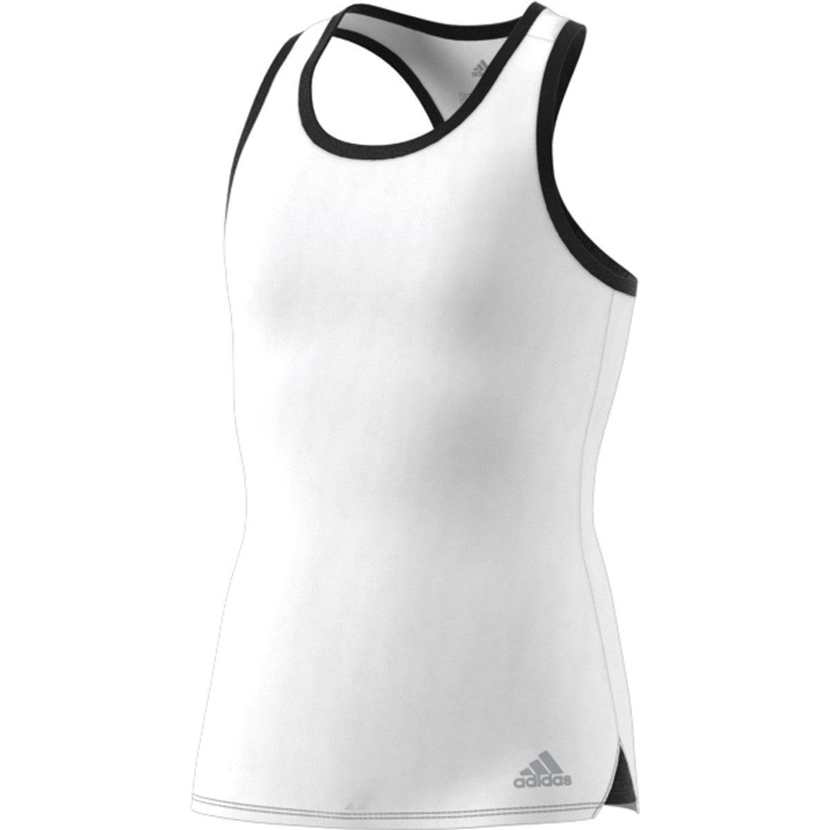 Adidas Girls Fall Tank   White