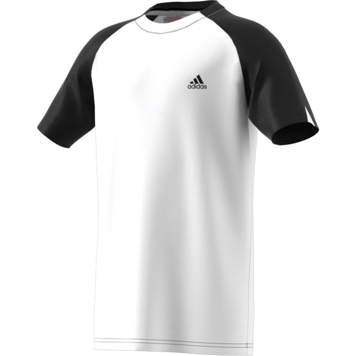 Adidas Boys Fall Club Tee    White/Black